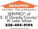 SERVPRO of E. El Dorado County/W Lake Tahoe