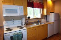 Couple's Cabins each have fully fitted kitchens.