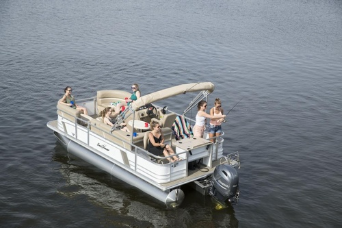 Pontoon Boat Rental on Stillwater Lake