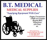 B. T. Medical Supplies