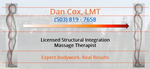 Dan Cox - Licensed Structural Integration Massage Therapist
