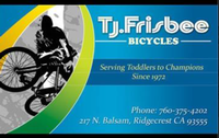 T J Frisbee Bicycles