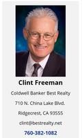 Clint Freeman, Broker Associate