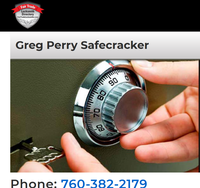 Greg Perry Safecracker