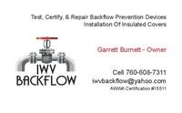 IWV Backflow