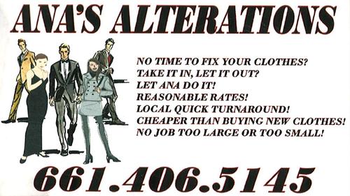 Ana's Alterations
