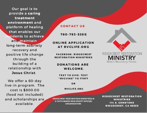 Ridgecrest Restoration Ministries