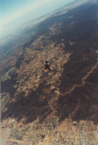 Ever feel like you are jumping out of an airplane?