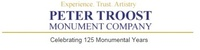 Peter Troost Monument Company