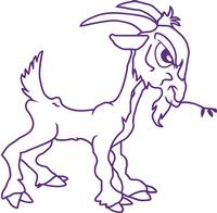 The Purple Goat