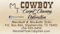 Cowboy Carpet Cleaning and Restoration