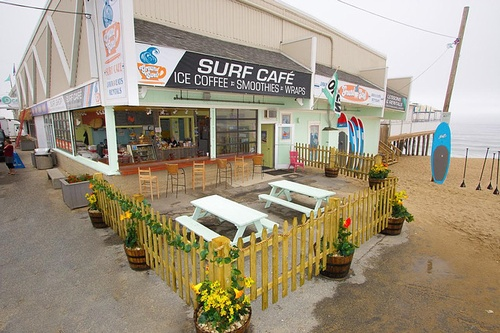 Our Outdoor seating