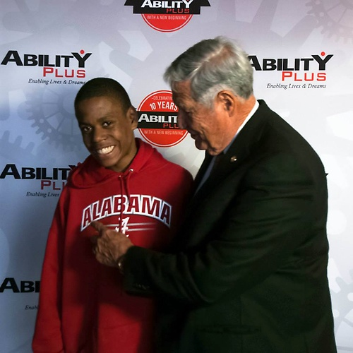 Gene Stallings visit March 2014 10th Anniversary Event