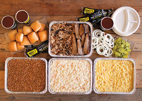 Tailgate Party Pack easily feeds up to 12 adults