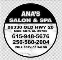Ana's Salon & Spa, LLC