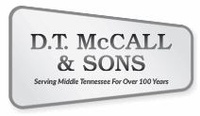 D. T. MCCALL & SONS