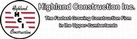 HIGHLAND CONSTRUCTION, INC.