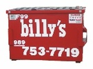 Billy's Contracting Dumpster Rental