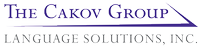 The Cakov Group Language Solutions