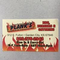 Plank's BBQ
