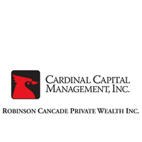 Robinson Cancade Private Wealth Inc. a Division of Cardinal Capital Management, Inc.