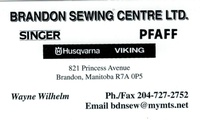 Brandon Sewing Centre Ltd.