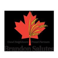 Brandon Salutes