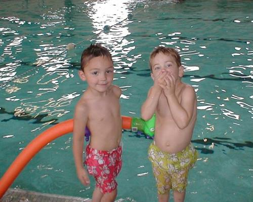 Teaching children to swim with Confidence!