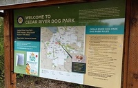 Cedar River Dog Park (temporary)