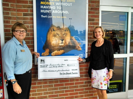 Food Lion Goochland Donation