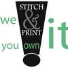 STITCH & PRINT IT, LLC (Eastern Oregon Stitch & Print