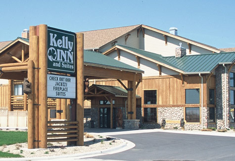 Front entrance - Kelly Inn and Suites