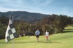 Golfing at Golf Ojai