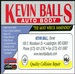 Kevin Ball Auto Body & Sales, Inc.