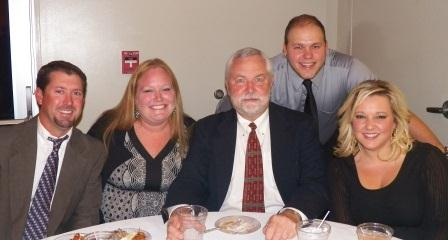 The team from Palmetto Graphix enjoys the 2012 Awards Gala and Auction.