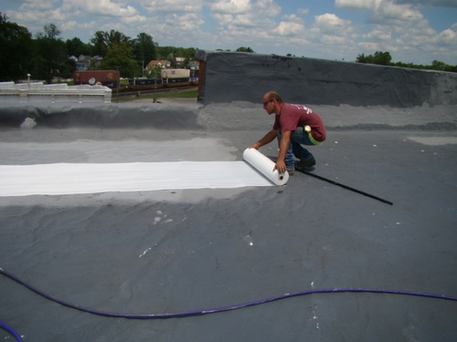 Flat Roof Coating Service