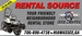 Rental Source, Inc.
