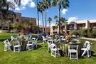 Poolside Courtyard