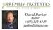 David Parker, Premium Properties, sanfordlistings.com