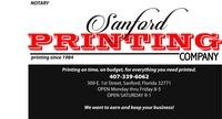 Sanford Printing Company