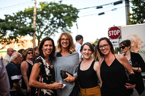 Chamber members enjoying street.life! 2019.  Photo by Raya on Assignment
