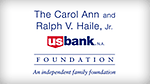 The Carol Ann & Ralph V. Haile, Jr./ U.S. Bank Foundation Logo