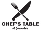 Chef's Table at Sorrento's