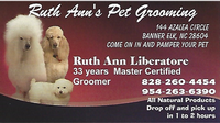 Ruth Ann's Pet Grooming