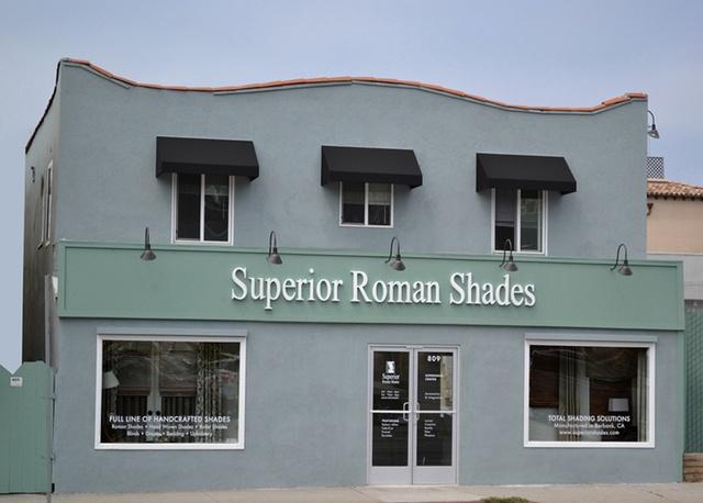 Superior Roman Shades