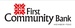 First Community Bank