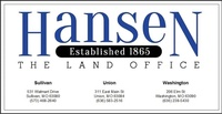 Hansen Franklin County Land Title & Abstract Company