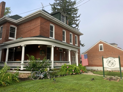 Welcome the Hoefel Haus B&B and Bike Hostel!