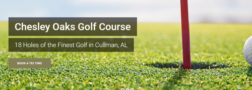 18 holes of the finest golf in Cullman, AL