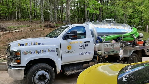 You Dig It! Septic Truck